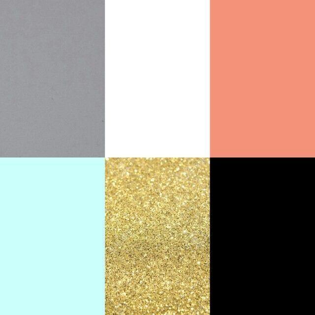 Pink Black Gold Color Palette Color Inspiration Design
