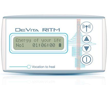 #DeVitaRitm Η συσκευή ευεξίας «DeVita Ritm» αποτελεί μοναδική στο είδος της εφεύρεση, η οποία βελτιώνει την #διάθεσή σας, απαλλάσσει από το στρες και την χρόνια κόπωση. Η συσκευή διαθέτει 30 προγράμματα, τα οποία θα βοηθήσουν εσάς και τους κοντινούς σας ανθρώπους να διατηρήσετε μια καταπληκτική διάθεση.