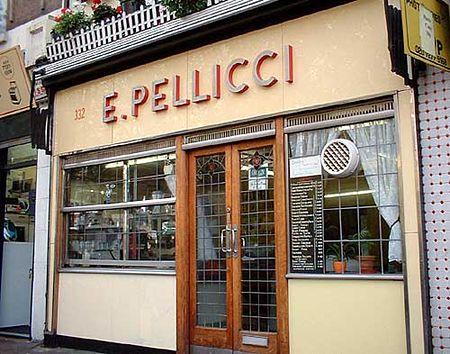Classic Cafes | E. Pellicci Cafe