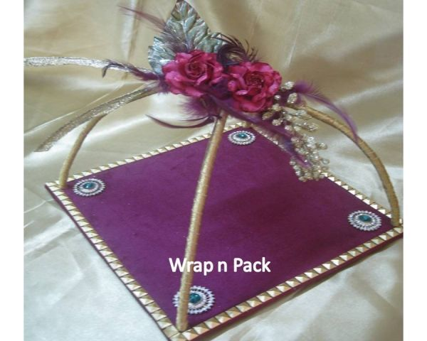 how to make trousseau packing flowers - Google Search