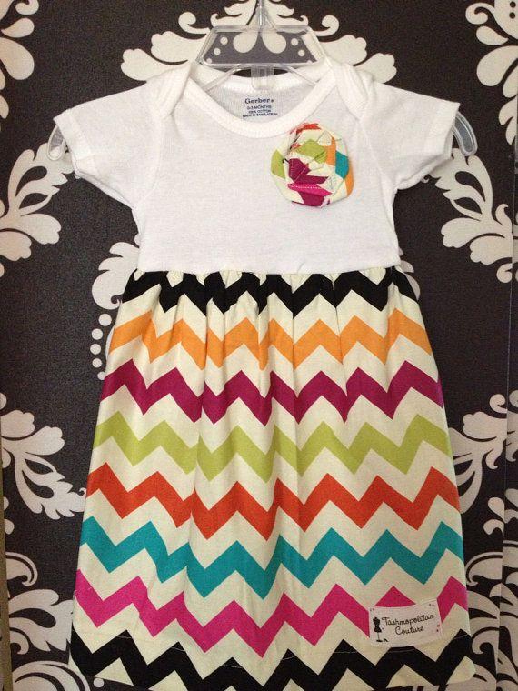 Infant onesie dress on Etsy, $18.00