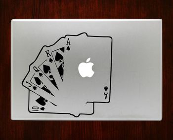 Playing Cards Decal Sticker For Macbook Pro/Air Decal Sticker For Macbook Pro Air