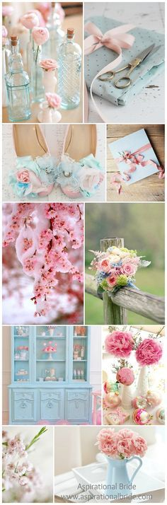 iced pink, wedding, colour palette, theme