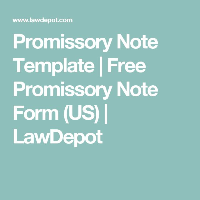 The 25+ best Promissory note ideas on Pinterest Causes of - loan template free