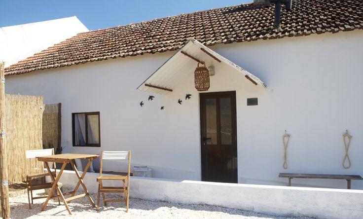 Portuguese beach house. Lizandro Surf Shack. www.atlanticandco.com