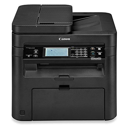 Canon Imagecl Black And White Multifunction Laser Printer Wireless Adds Convenience To Printing Copying Scanning Faxing With