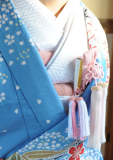Intricacies & Art of the Kimono, such Kimonos are put on the woman by professional dressers, are many layers & very expensive.