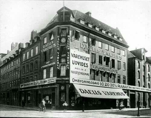 Daells Varehus i Nørregade 12, 1922