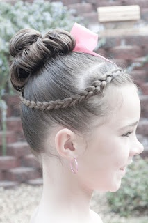 Enjoyable 1000 Images About Gymnastics Hair On Pinterest Gymnastics Hair Short Hairstyles Gunalazisus