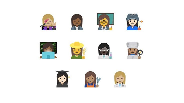 Google (GOOG) succeeds in pushing for gender-neutral emoji — Quartz