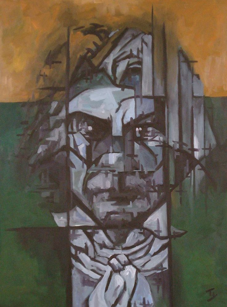 """BEETHOVEN, Tyrone Rogers, 2015, Oil on canvas, 36"""" x 48""""  TyroneRogers.cm"""