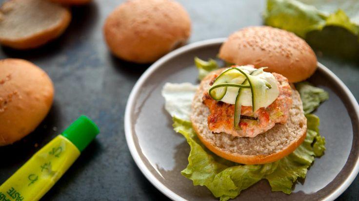 Zalmburgers met wasabimayonaise   VTM Koken