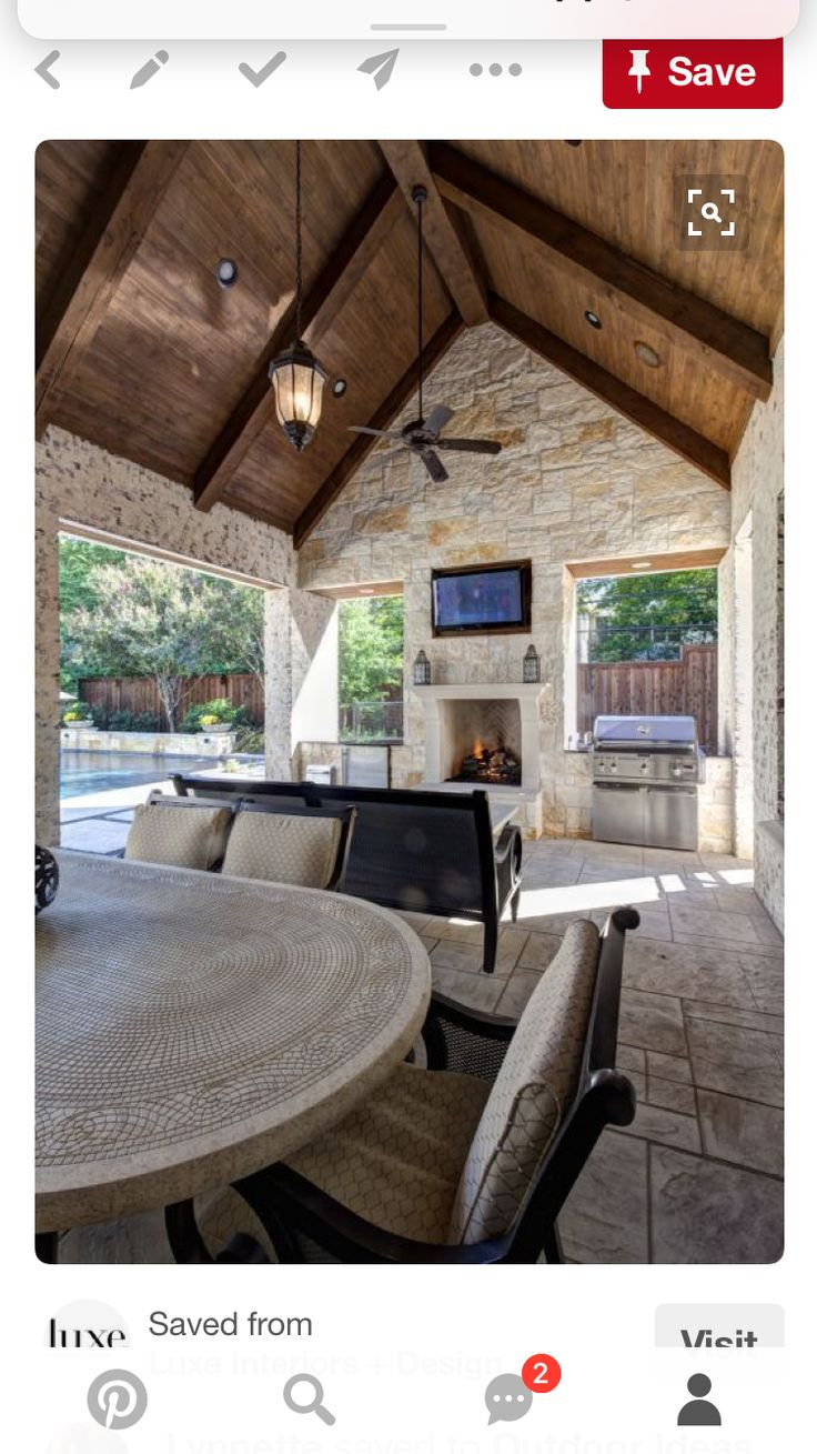 Contemporary cabana take it outside 9 fresh outdoor living spaces - Awesome Desco Outdoor Room By Phillip Jennings Jpg By