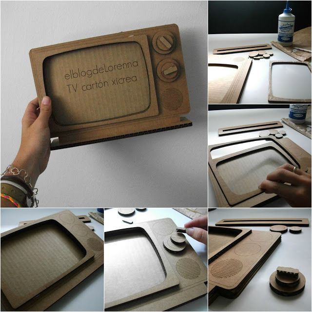 ♔  TV #CARDBOARDCRAFTS