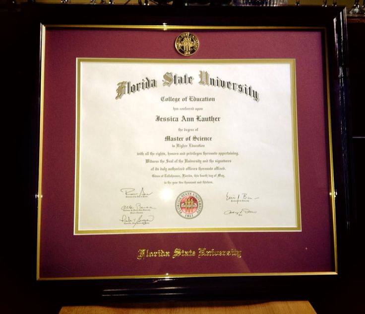 On May 3, 2013 I graduated from Florida State University with a - master or masters degree on resume