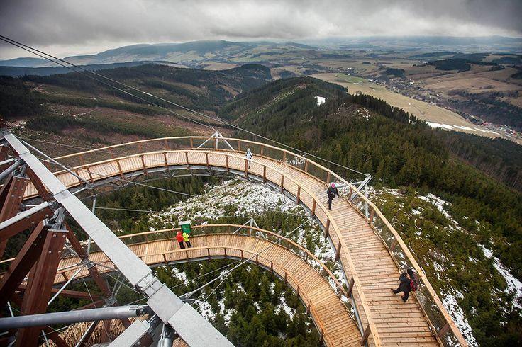 Ścieżka w chmurach - Dolni Morava