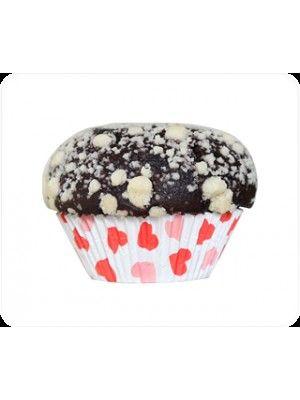 Kırmızı Kalpli Muffin Kek Kapsülü (300 adet) fiyatı