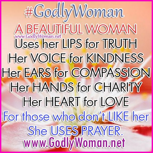 a godly woman uses her heart for love read more