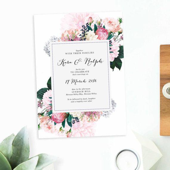 25 s e rosa hochzeitseinladungen ideen auf pinterest. Black Bedroom Furniture Sets. Home Design Ideas