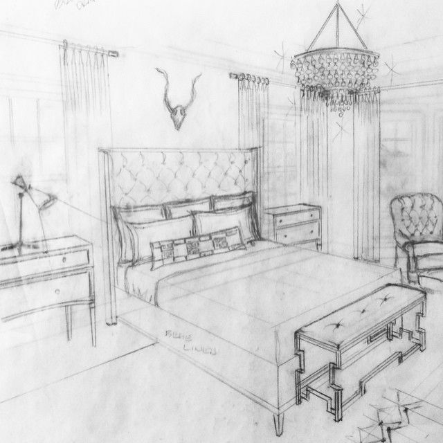 Up late with @janegianarelli cranking it out! Time to call it a night. #deadlines #bachelorpad #erikabonnellinteriors #ebiproject #sketch #interiordesign