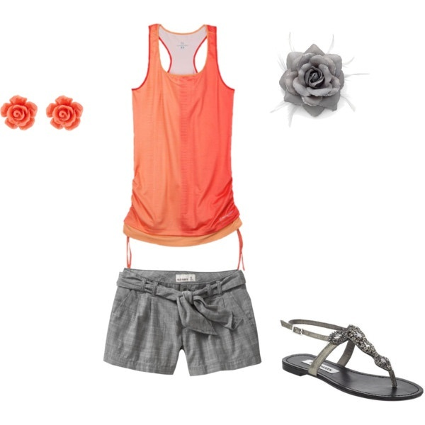 Pretty in Peach, created by christymoeder2011 on Polyvore cdmoeder