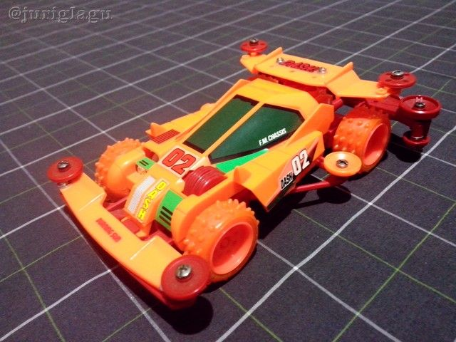 Tamiya 18034 - Dash-02 Neo Burning Sun