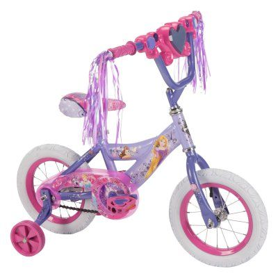 Huffy 12 in. Disney Princess Bike with Handlebar Magic Mirror - 22457, Durable