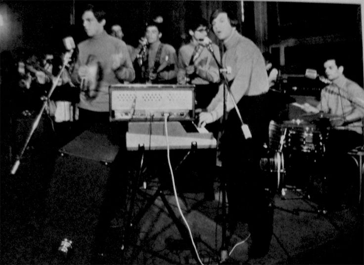 Angel and the Brains perform in the first rock mass in Rome, La Messa dei Giovani, 27 April 1966