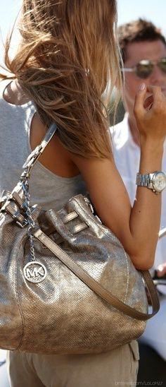 Michael Kors bag Silver