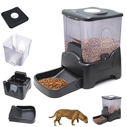 Oxgord Large Programmable Pet Dog Cat Automatic Feeder Timer Dry Food Dispenser OxGord http://www.amazon.com/dp/B00MU2F8C6/ref=cm_sw_r_pi_dp_ftbxub0CD7M7D