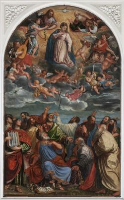 Chiesa di Santa Maria Assunta Via Piva, 2,   tutti i giorni 9.00 – 12.00 , 16.00 –19.00 Francesco Beccaruzzi, Assunzione di Maria Valdobbiadene