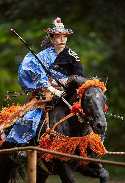 Meiji Jingu Yabusame - 20 by Bernard Languillier on Flickr.