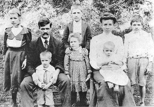 Coffey Family At Mill Springs Wayne County Kentucky As border=