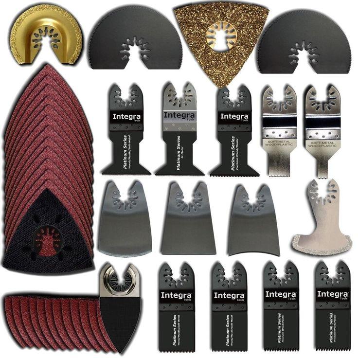 100 Bi Metal Oscillating Saw Blade for Fein Bosch Makita Dremel Multi Tool Ryobi