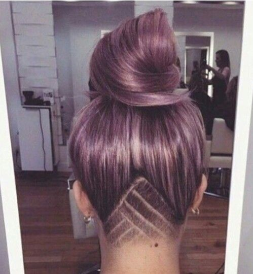 Not big on shaved hairstyles, but this one looks really cool!