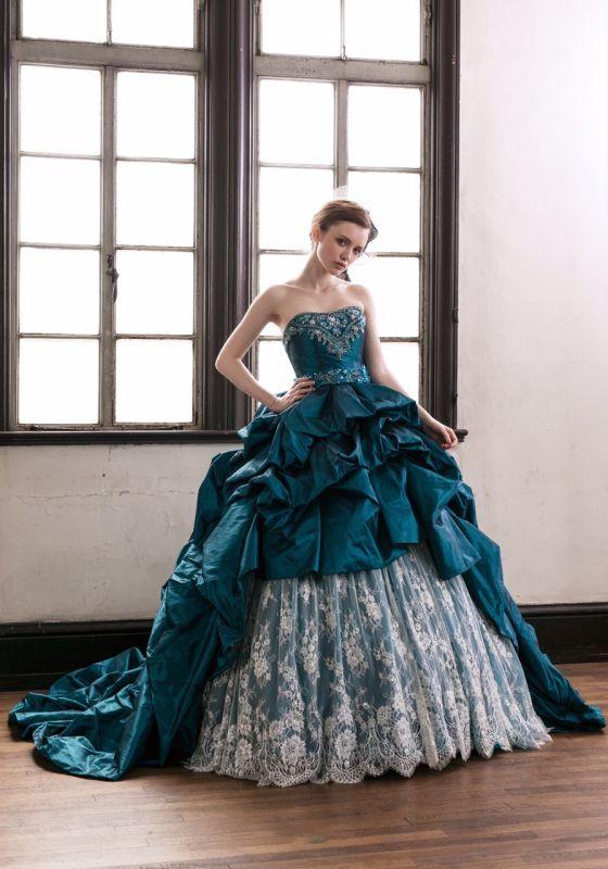 71a0ee58f16fc HARTNELLのカラードレス