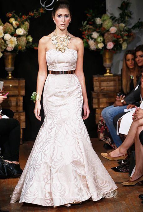 Brides: Sarah Jassir - Fall 2015. Wedding dress by Sarah Jassir