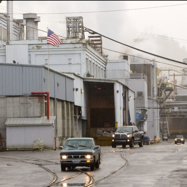 Supposedly haunted, Oregon City's Blue Heron Paper Co.      Google.com