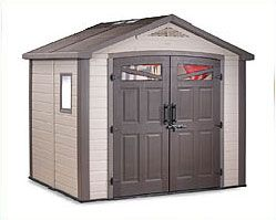 From Compact patio, garage or balcony sheds and cabinets to small backyards and inner city living sheds to the large backyard sheds. We have a storage solution for just about anyone. All sheds come with their own floors so no need for slabs. Easy to assemble and maintenance free.