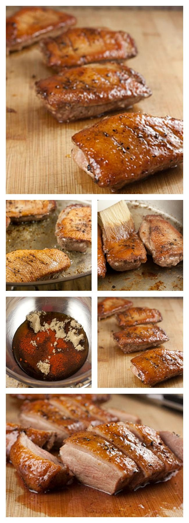how to cook goose breast in oven