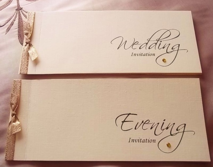 PERSONALISED CHEQUE BOOK STYLE WEDDING INVITATIONS | eBay