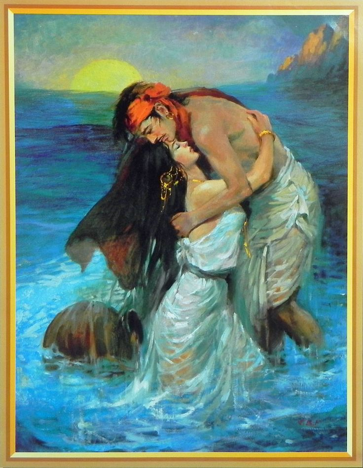 Sohni Mahiwal - The Passion of Love (Reprint on Paper - Unframed)