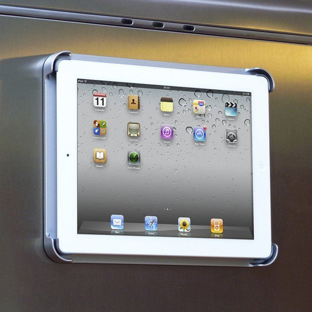 FridgePad Magnetic iPad Mount Get all of the benefits of a more expensive Fridge without the extra cost.