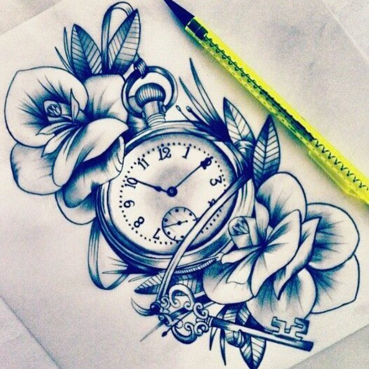 This with maybe a compass instead. I love the key hidden against the rose