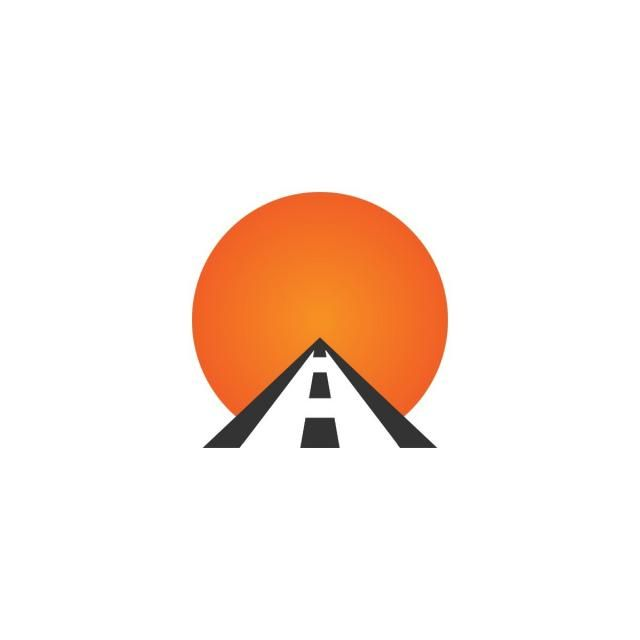 Highway Road Logo Icon Logo Icons Road Icons Abstract Png And Vector With Transparent Background For Free Download Road Logo Logo Icons Transportation Logo