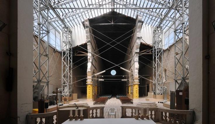 reconstructions in L`Aquila