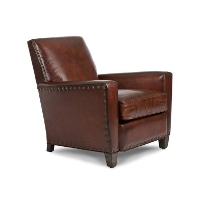 Hancock and Moore 5406 Lloyd Chair available at Hickory Park Furniture Galleries