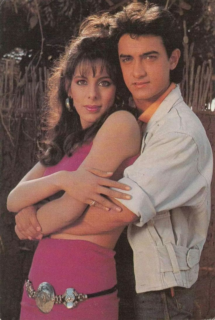 Pooja Bedi & Aamir Khan
