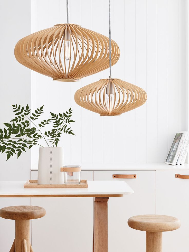 15 Scandi Rooms Nailing the Natural Wood Trend Minimal-pendant-light-768x1024