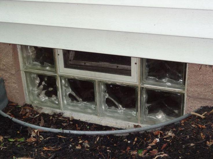 glass block windows home depot canada basement mi basic with the water hose efficient decoration window installation cleveland ohio